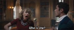 """What Part Of Taylor Swift's """"Blank Space"""" Video Are You? I got screaming, fighting, perfect storm!!"""
