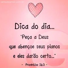 entregue seus planos ao Senhor e eles darao certo | Home Versículos de… …