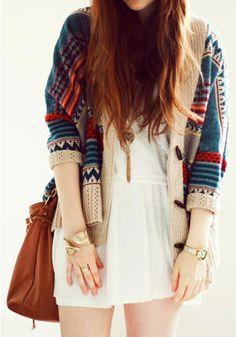 Vintage Stripe Sweater @LookBookStore