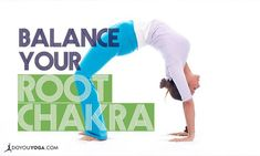 An off-kilter root chakra can lead to a whole host of problems, from back pain to colon issues. Fix it with these yoga poses! All Yoga Poses, Muladhara Chakra, Root Chakra Healing, Beginner Yoga Workout, Yoga For Back Pain, Yoga Positions, Types Of Yoga, Kundalini Yoga, Vinyasa Yoga