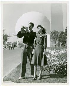 New York World's Fair 1939 Couple