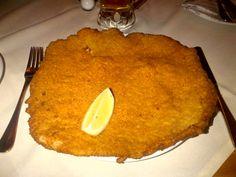 The real Wiener Schnitzel @ Restaurant Figlmüller!