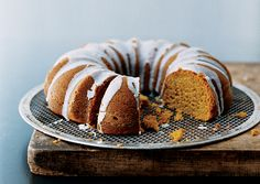 Pumpkin Spice Bundt Cake with Buttermilk Icing: via gourmet.com