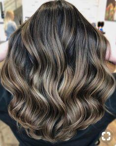 63 stunning examples of brown ombre hair - Hairstyles Trends Brown Ombre Hair, Ombre Hair Color, Bayalage, Balayage Hair, Medium Hair Styles, Long Hair Styles, Hair Color And Cut, Long Wavy Hair, Brunette Hair