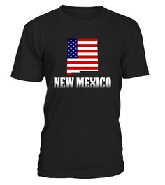 # American Flag New Mexico Map T-Shirt .   New MexicoWith America T-shirt is a great way to show your pride of America. Celebrate the National holiday July 4th with this t-shirt. Memorial day and 4th of July T-shirt. America Flag Day T-shirt. American Patriot T-shirt.  TIP: If you buy 2 or more (hint: make a gift for someone or team up) you'll save quite a lot on shipping. Guaranteed safe and secure checkout via:  Paypal | VISA | MASTERCARD  Click theGREEN BUTTON, select your size and…