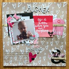 I made this layout with my September Clique Kit with the Hello Lovely by Cocoa Vanilla Studios.