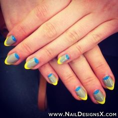 french double nail art