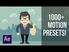 My Favorite After Effects Animation Preset Pack Titles & Graphics | Graphic Design Tutorials