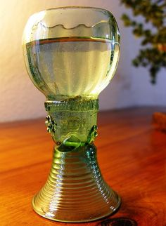 Old Thuringian wine glass (17th century)
