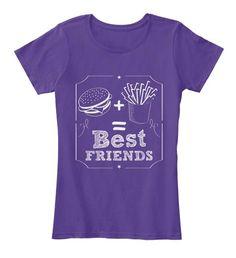 Bestfriends Funny Humor Food Women Top T-Shirt