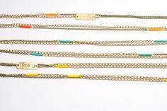 SALE Ompak long layering necklace 1A40. $28.00, via Etsy.