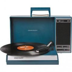 Totally Techie Gift Ideas: Spinnerette Portable Turntable by Crosley