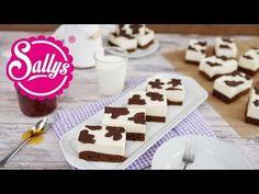 Kuhschnitte / einfacher Blechkuchen mit Milchcreme & Kuhflecken - YouTube