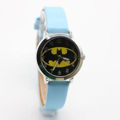 Watches Humor Ot01 Hot Children Watch Kids Cartoon Batman Wristwatch Cool Rubber Table Watches For Children Boy Girls