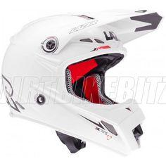 2013 Lazer Smx Motocross Helmets - Mx8 Pure Glass X-line White
