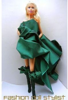"""Fancy Feet: Couture Footwear."" fashiondollstylist.blogspot.com"
