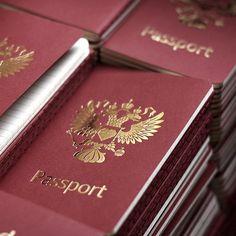 Passport Moleskine Notebook