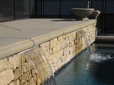 Stacked stone  Waterfalls & Sheer Descent Water Features