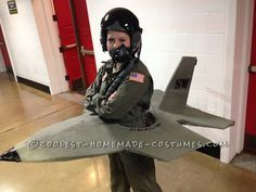DIY jet fighter Costume - Yahoo Image Search Results