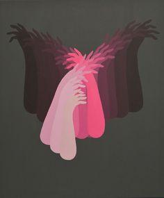 Anatomía minimalista en las pinturas de Santiago Ascui 4