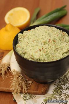 Tavaszi zöld kence (nyers, vegán szendvicskrém)