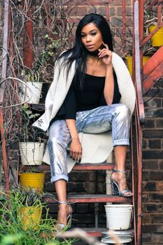 Snapshot: Bonang Matheba for Glam Africa Magazine Queen B, Celebs, Celebrities, Strike A Pose, Boss Lady, Celebrity Style, Curves, Casual Outfits, Poses