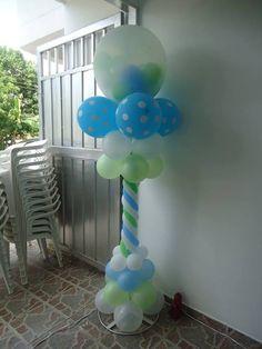torres en globos con soporte