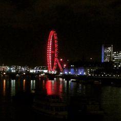 via Instagram bertholdkolberg: #igerslondon #londoneye #überwasser #londoncity