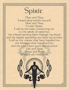Spirit Evocation Parchment Page for Book of Shadows or Poster | eBay