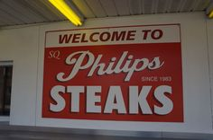 Phillip's Steaks At 31 years old, Phil's is a relative newcomer.