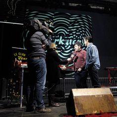 @carlichi_from_starkytch y Marcelo dex@starkytch_deratonesyvinilos atendiendo a los medios, unas horas antes de la Nochevieja #teatrodelasesquinas #teatro