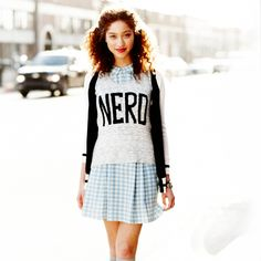 t-shirt over sundress with cardigan! ->awesome!