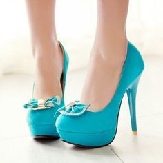#Shoes #Fashion #Blue #Cute