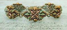 Bracelet of the Day: Loretta Deco - Turquoise & Chocolate