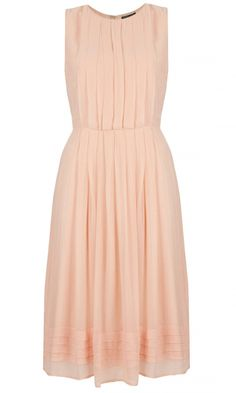 Topshop Pleated Midi Dress, £42
