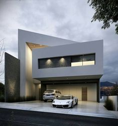 Top 10 Modern house designs – Modern Home Modern Architecture Design, Residential Architecture, Interior Architecture, Modern House Facades, Modern House Design, Villa Design, Facade House, Home Fashion, Exterior Design