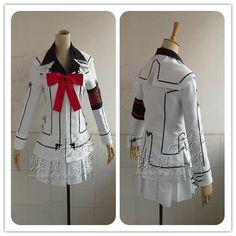 Anime Vampire Knight Cosplay Costume Kuran Yuki Cross White
