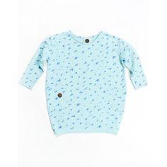 Οργανικό φόρεμα Scratch.  100% οργανικό βαμβάκι Balloon Shapes, Light Blue Background, New Wardrobe, Fabric Patterns, Shades Of Blue, Pantone, Designer Dresses, Top Colour, Size Chart
