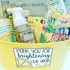 Every teacher deserves to feel appreciated! I put together this gift for my sweet assistant last year! You can grab the tags for FREE in my…