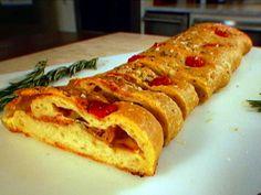 Scarpetta Stromboli recipe from Scott Conant via Food Network