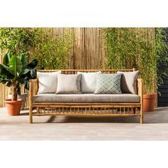 Shipping Furniture From Usa To Australia Info: 7921982892 Bamboo Sofa, Bamboo Furniture, Diy Pallet Furniture, Cheap Furniture, Garden Furniture, Bamboo Chairs, Garden Sofa, Furniture Stores, Patio Loveseat
