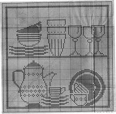 Gallery.ru / Фото #88 - Crochet Filet pour Point de Croix 1 - Mongia