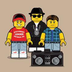 """""""LEGO Beastie Boys"""" by Dan Shearn"""