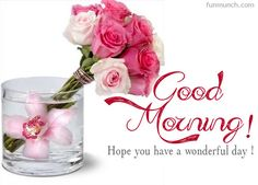 good morning images in purple and pink roses - Google zoeken