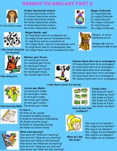 German vocabulary part 2