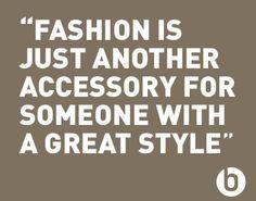 Inspiring fashion quote