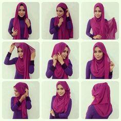 #hijab #tutorial #stepbystep