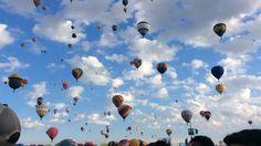 Hundreds of balloons!