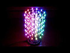 Arduino RGB Led Cylinder - YouTube