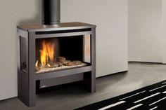 Lopi Cypress - Freestanding Gas Log Fires - Heatworks